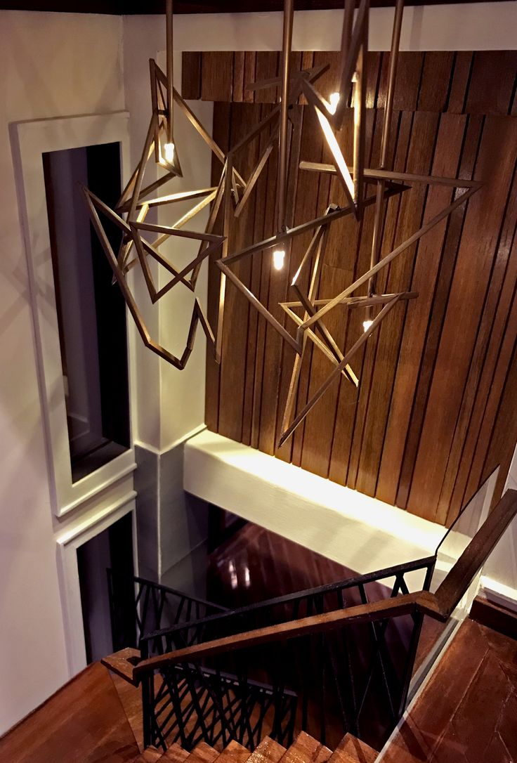 Lighting Basement Washroom Stairs: A Different Kind Of DIY Creating A New Light Fixture Above