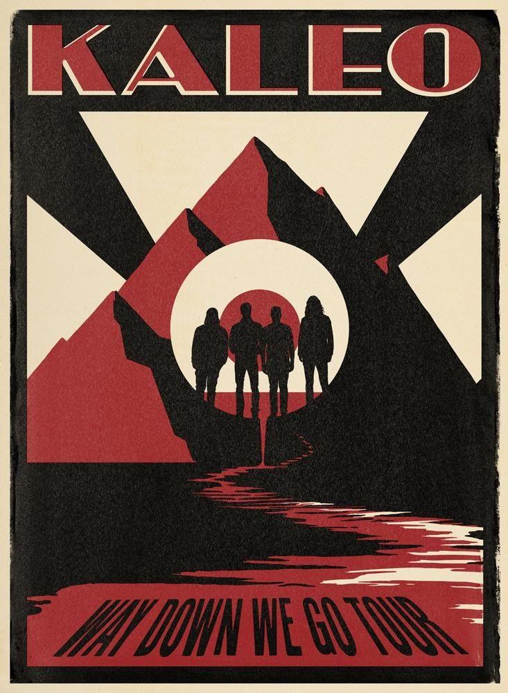 Image of KALEO Poster