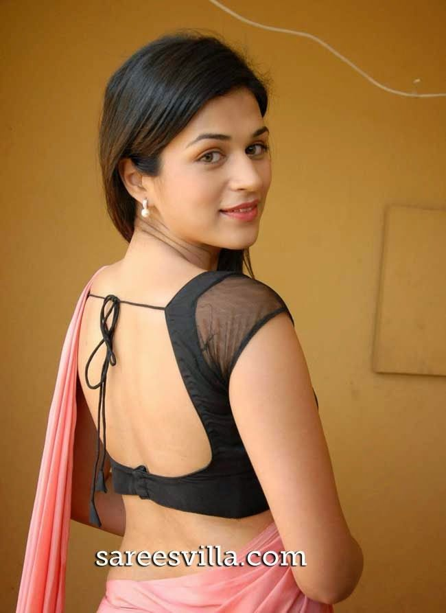 Shraddha Das In Backless Blouse