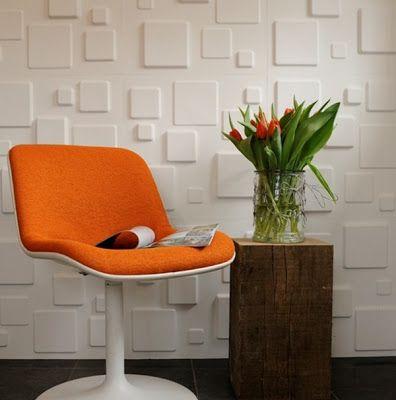 Modern Interior Designs 2012: Diseño de Interiores con Paredes de Textura