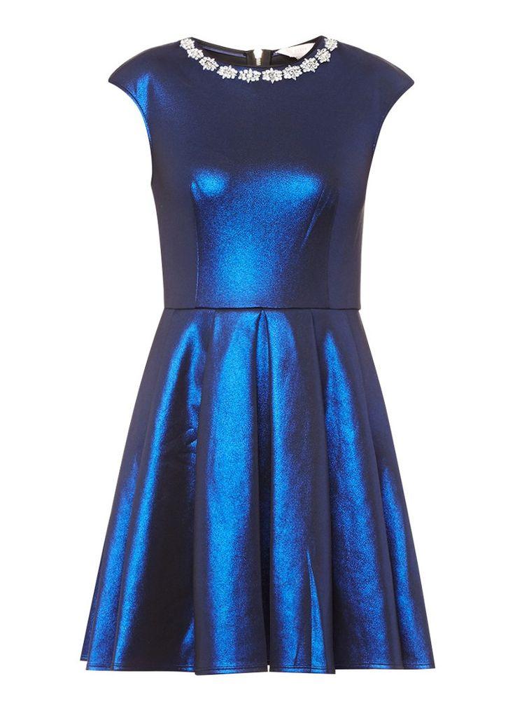 Ted baker jurk lichtblauw