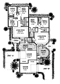 1000 images about income property multigenerational for Www homeplans com