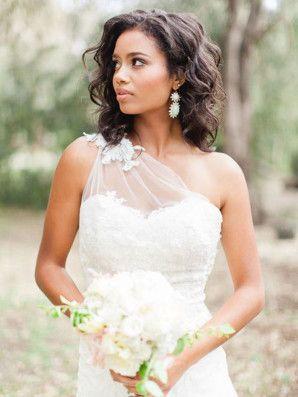 sposa con capelli mossi naturali