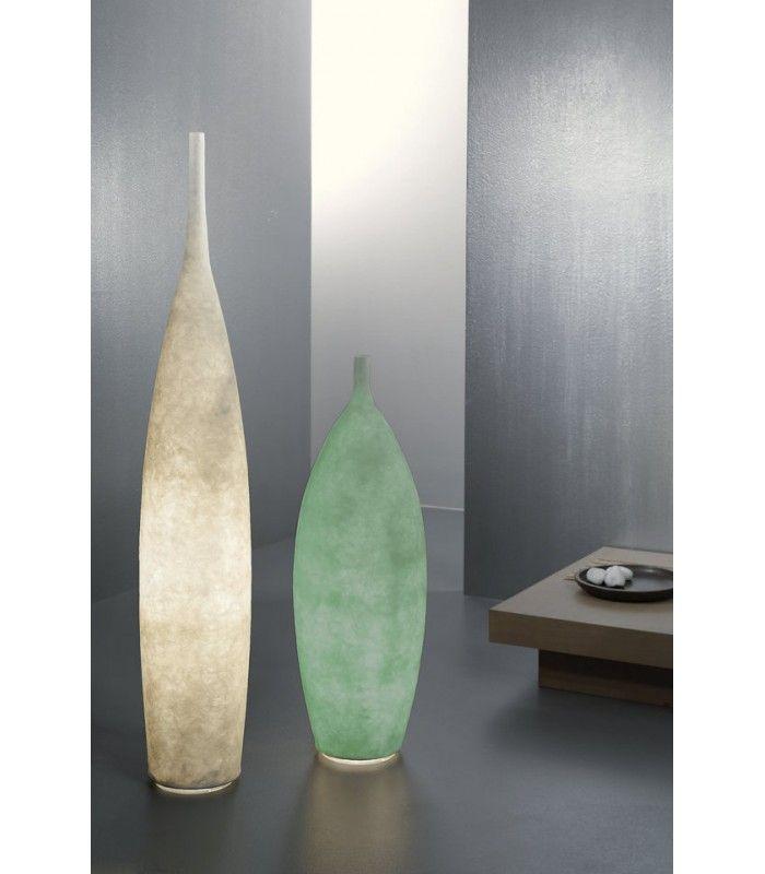 In-es.artdesign - lampada da terra Tank 2 #inesartdesign #artdesign #nebulite #design #lamp #madeinitaly #tank #turquoise #floorlamp #light