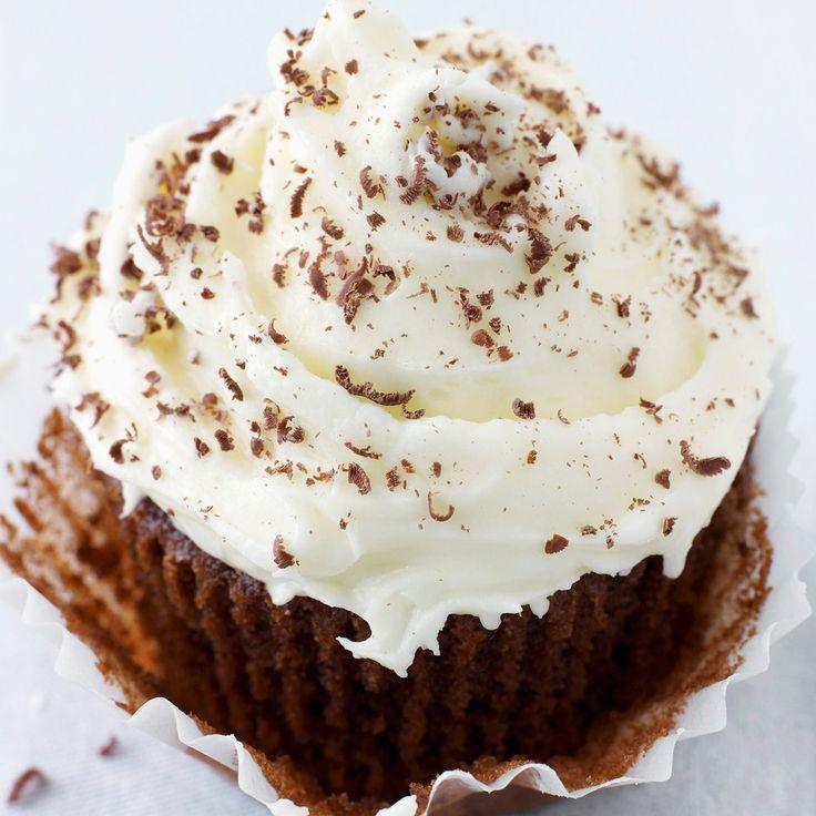 Irish cream liqueur topped cupcakes recipe   BakingMad
