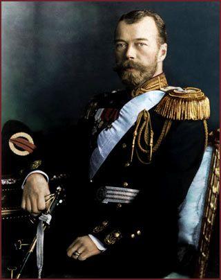 Emperor Nicholas II, last Emperor of Russia.
