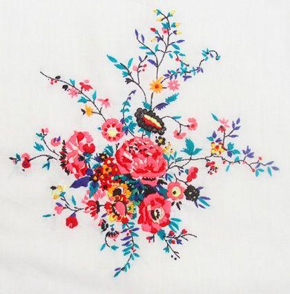 Needlework chart: Tattoo Ideas, Bunch Of Flowers Tattoo, Bouquets Of Flowers Tattoo, Floral Embroidery, Flowers Power, Jazmin Berakha, Bright Colors Tattoo, Embroidery Tattoo, Needlework Charts