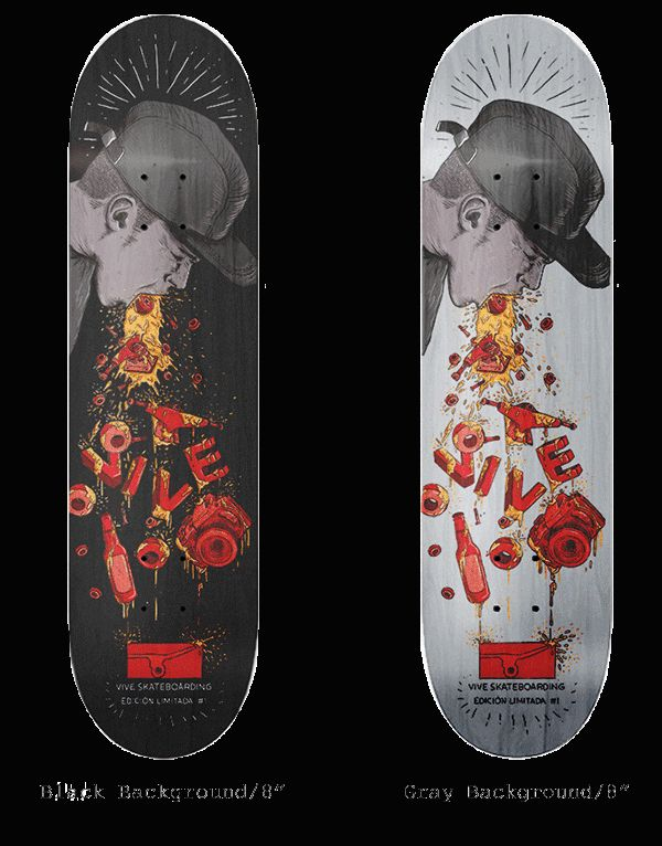 Vive Skateboards Limited Edition 1 on Behance
