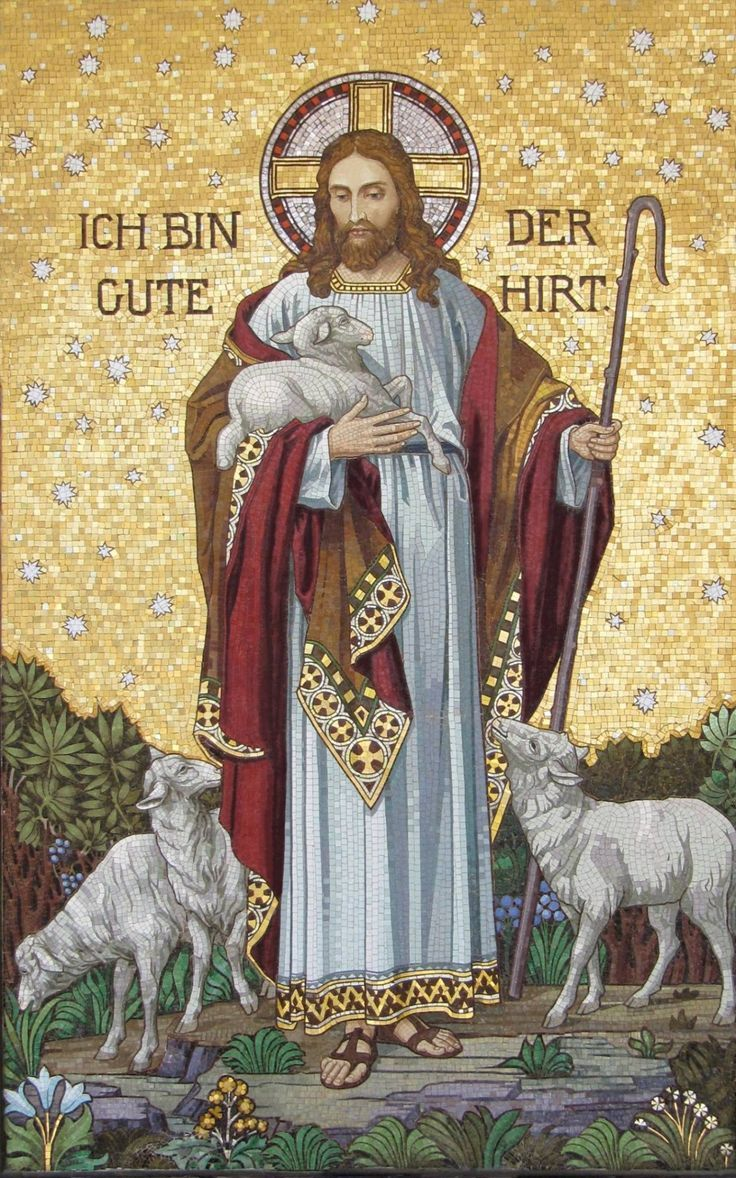 Be hold the lamb of God who takes away the sins of the world have mercy on us. I am the good shepherd, a good shepherd lays down His life for HIS sheep.
