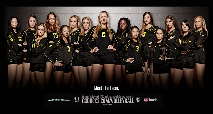 """University of Oregon: meet the team. FINALLY!  A creative team shot where everyone looks equally important. No more tiny people at the back. That's the biggest problem with the """"creative"""" shots."""