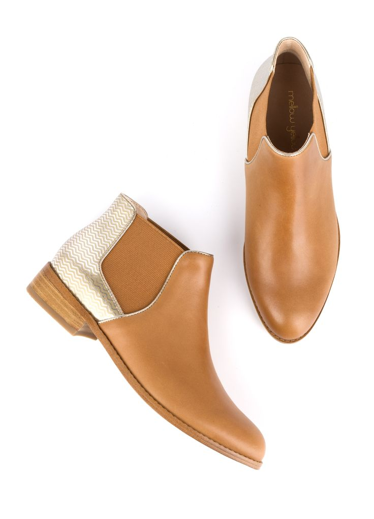 Bottine, Boots, Low boots femme Mellow Yellow