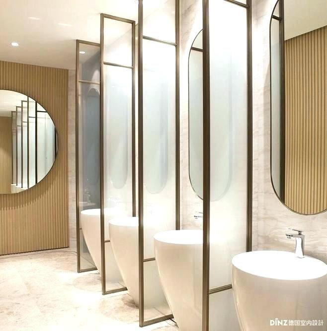 32 Amazing Public Bathroom Design Ideas Thelatestdailynews Washroom Design Public Restroom Design Toilet Design