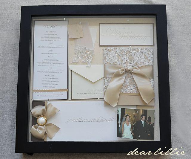 Best Wedding Shadow Box Ideas Images On Pinterest Wedding