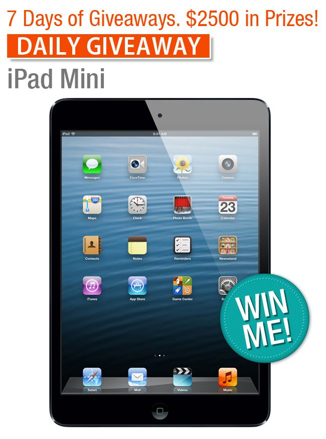 Fall into Health Daily Giveway: iPad Mini 32 GB — $429 Value | Village Green Network