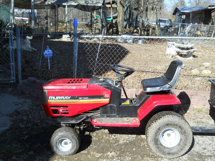Murray Garden Tractor : Murray b garden tractor other rides