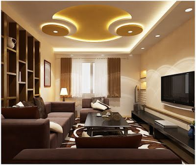 Latest POP False Ceiling Design For Living Room Part 40