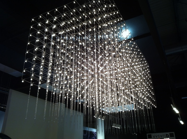 The Studio Harrods visits Milan Furniture Fair - Quasar Lighting