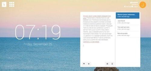 Knotes extensión para tomar notas compartirlas hasta por email y guardarlas en Dropbox   Knotes es una poderosa extensión para Chrome que parte de un servicio más avanzado llamadoKnotable una herramienta de productividad para guardar notas listas de tareas votaciones y hasta fechas. Sin embargo lo llamativo es que dicha extensión aunque puede usarse como un medio más para ingresar contenidos a la cuenta de Knotable dispone de funcionalidades más independientes.  Se destaca de Knotes el…