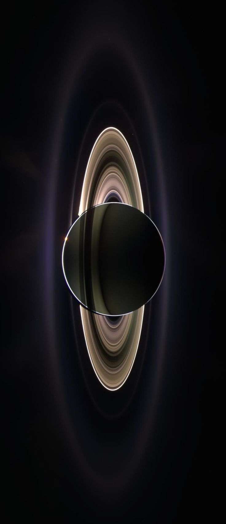 Saturn's Rings - the Cassini Space Probe Thanks to NASA's Cassini Space Probe astronomers are now able to produce the most detailed maps of Saturn's rings in history. This image of Saturn,...