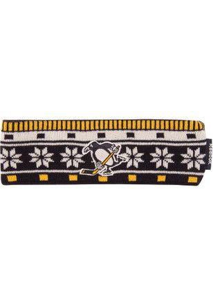 50% OFF | Reebok Pitt Penguins Black Headband Knit Hat
