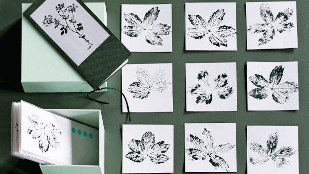 Lav selv de fineste kort med botanisk tryk   femina.dk