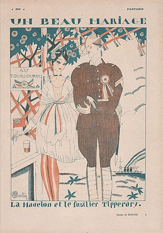 Charles Martin 1919 Beautiful Marriage: Madelon and the Tipperary Rifleman
