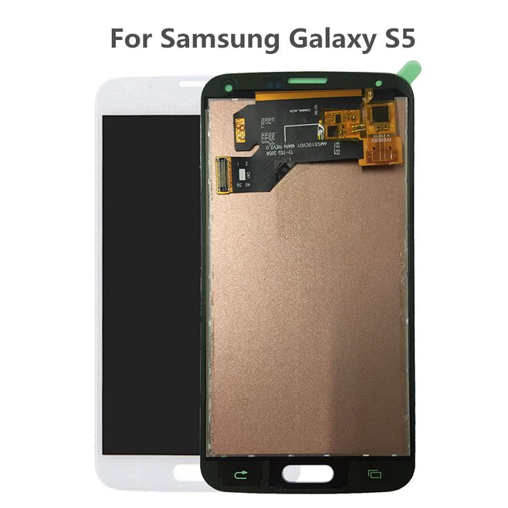 Best Price TOP quality Black/White Digitizer Assembly For Samsung Galaxy S5 i9600 SM-G900 G900F G900R G900F Phone LCD Display Touch Screen .....Click Link To Check Price