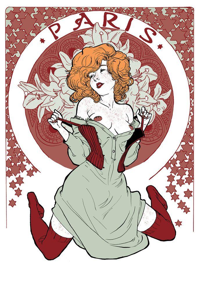Yannick corboz illustration in Illustration