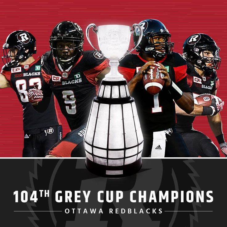 Wear it with pride #RNation!    You're @Shaw_CFL 104th #GreyCup Champions! #CFL