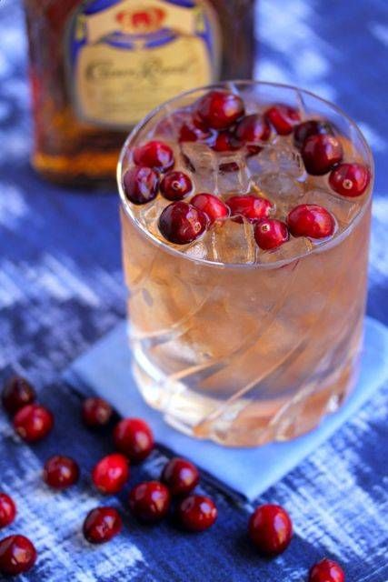 Cranberry juice, ginger ale and whiskey make for a cocktail that's easy to sip, easy to make and delectable.