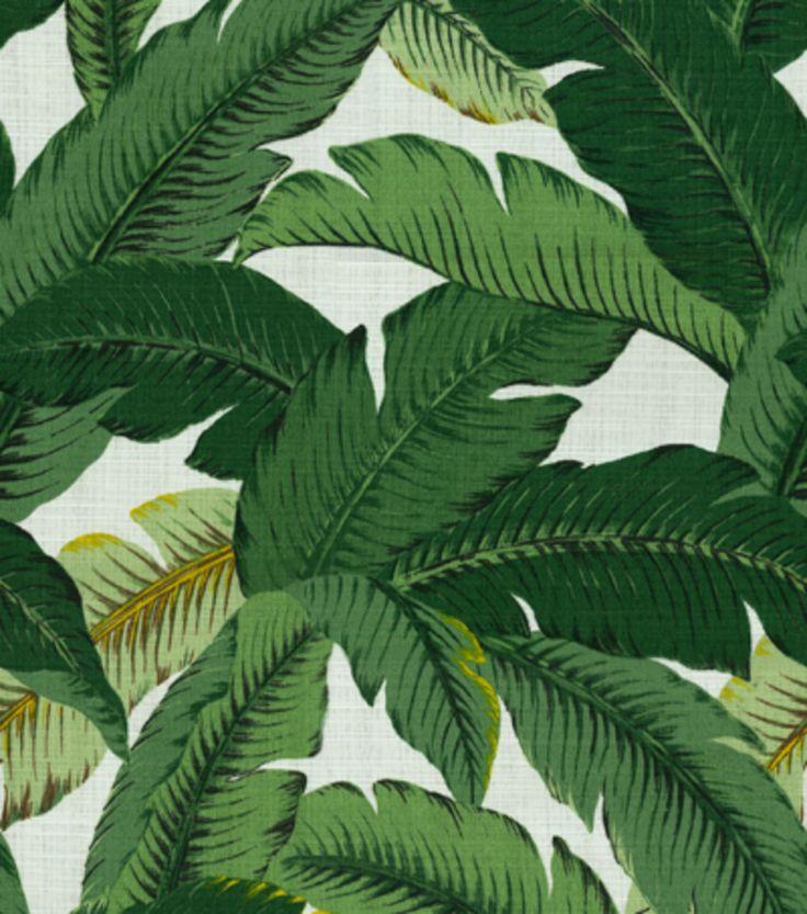 Home Decor Print Fabric Tommy Bahama Swaying Palms Aloe