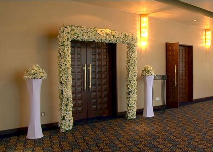 Best 25 wedding entrance decoration ideas on pinterest wedding 30 beautiful wedding entrance decorations for special day junglespirit Image collections
