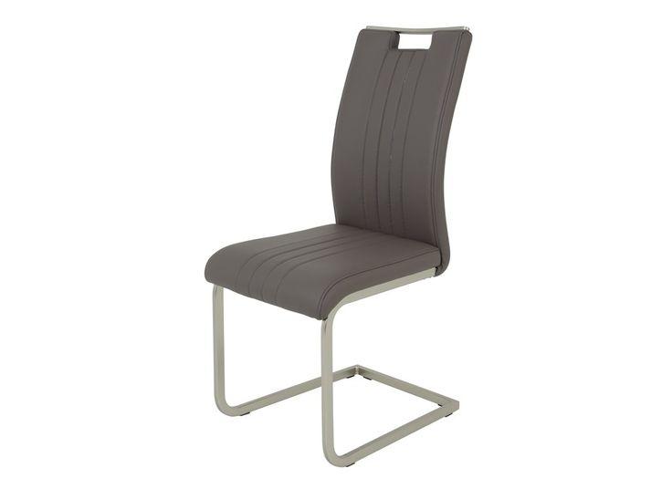 Schwingstuhl Antje 2er-Set Stuhlgruppe Freischwinger Schlamm 1323. Buy now at https://www.moebel-wohnbar.de/schwingstuhl-antje-2er-set-stuhlgruppe-freischwinger-schlamm-1323