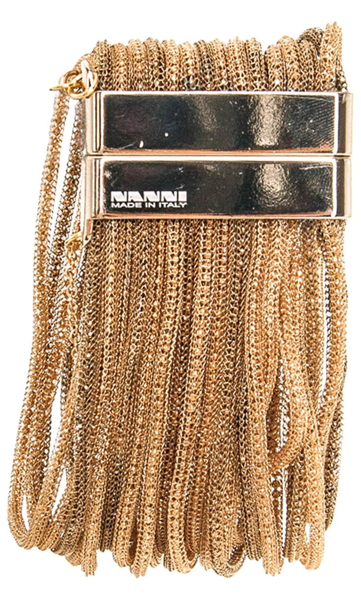 Nanni Gold Tone Bracelet -  #accessories
