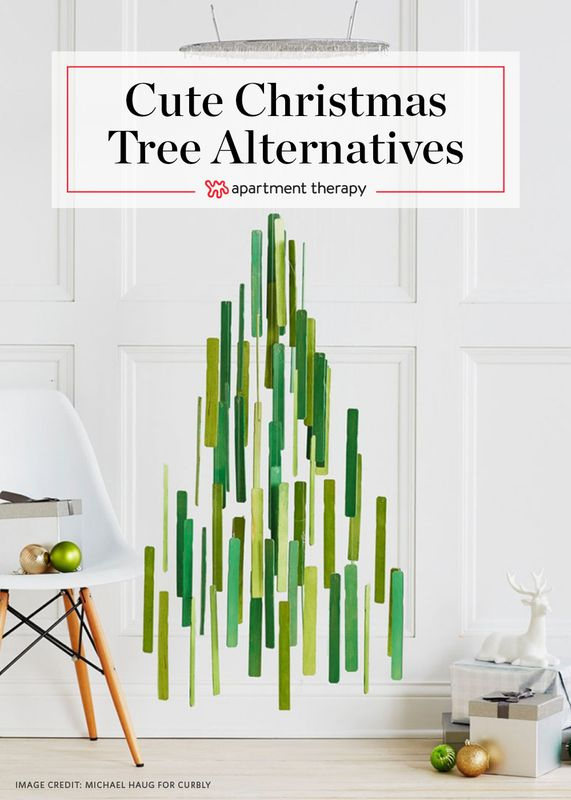 DIY Christmas Trees for Small Spaces | Apartment Therapy