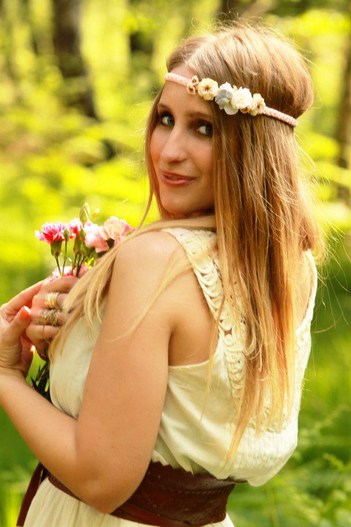 Little Bouquet | geflochtenes Haarband mit kleinen Blüten