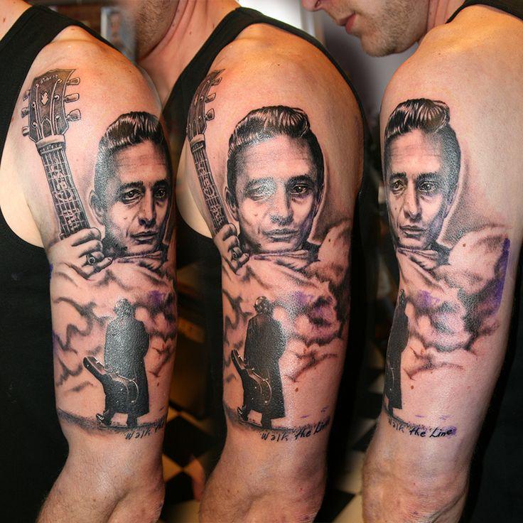 Johnny Gilbert Tattoos