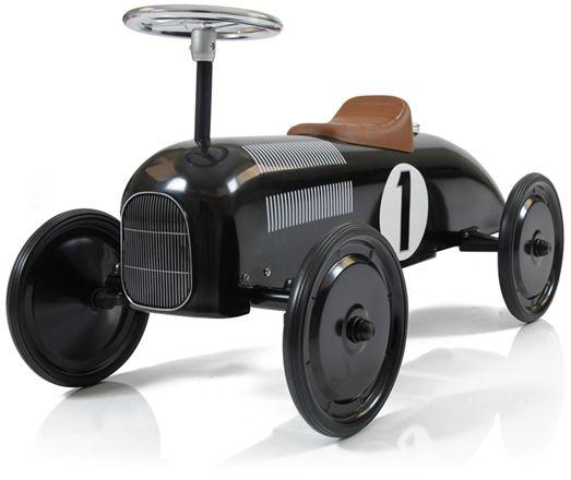 Mini Speeders Gåbil Classic Racer Svart
