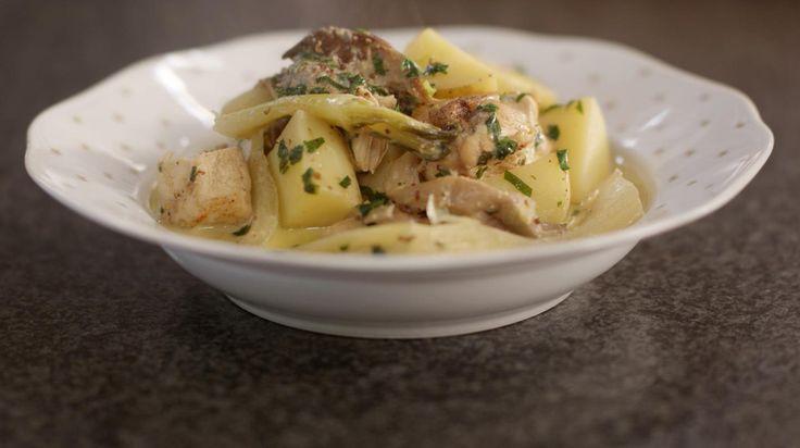 Kipfilet met aardappelen, oesterzwammen en venkel | Dagelijkse kost