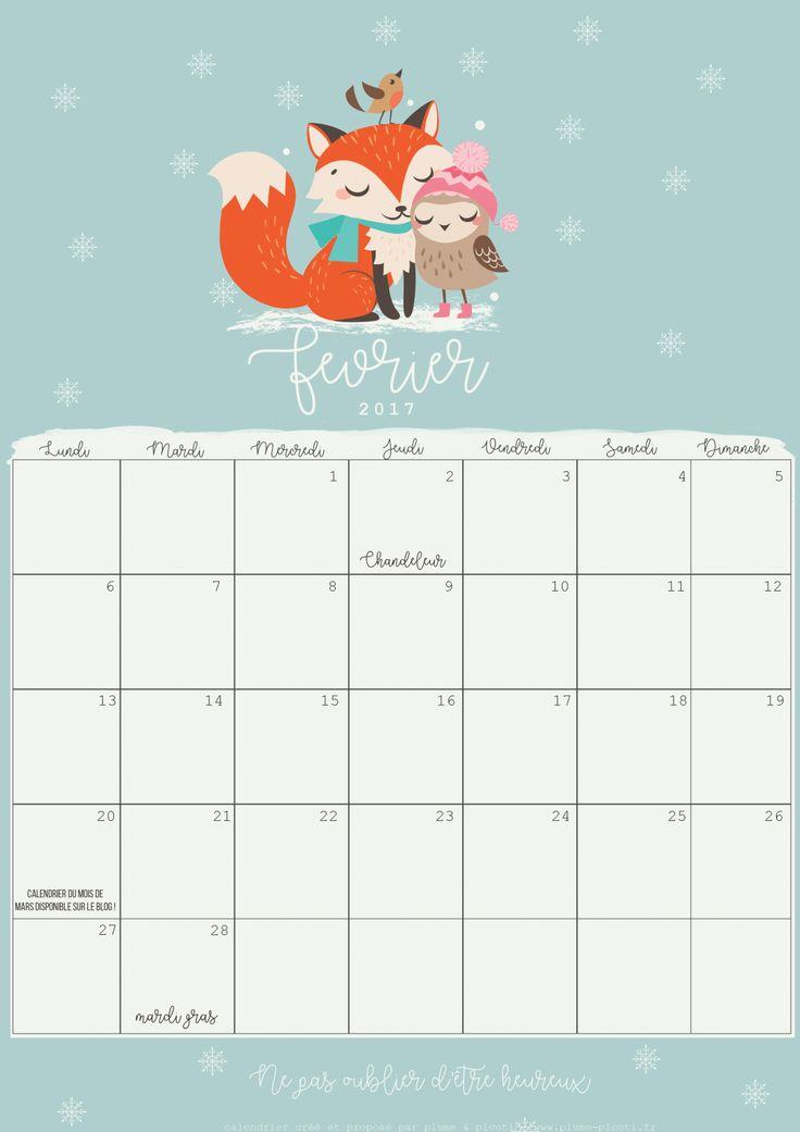 les 25 meilleures id es de la cat gorie calendriers mensuels sur pinterest calendrier. Black Bedroom Furniture Sets. Home Design Ideas