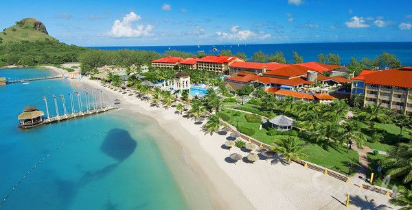 Reviews - The Top Caribbean All Inclusive Resorts For Couples: Sandals Grande St. Lucian Resort