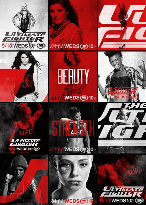 sports design - UFC - THE ULTIMATE FIGHTER on Behance - LUMBRE THE ULTIMATE FIGHTER on Behance