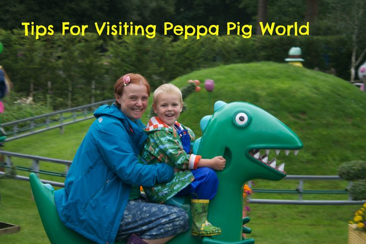 Tips For Visiting Peppa Pig World