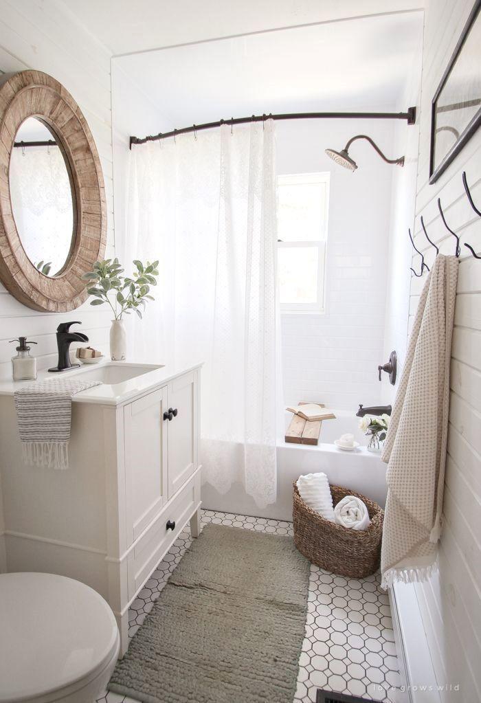 32 Ideen für Badezimmerumgestaltungen für kleine Räume, die Sie kopieren möchten