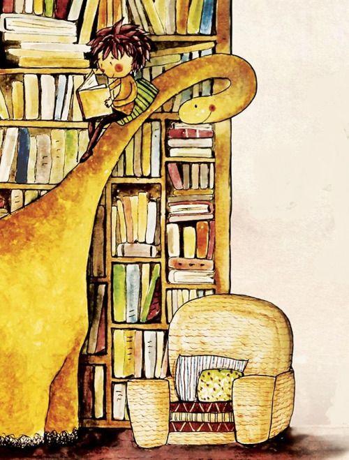 Mi dinosaurio también es lector (ilustración de Baraa Awoor)