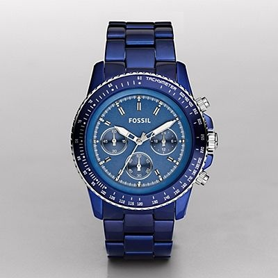 <3 Fossil watches - love this color