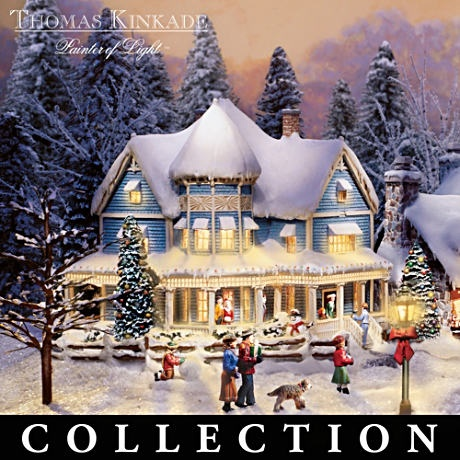 Thomas Kinkade decorated my Christmas life with puzzles and so many things.  What a treasure he was.