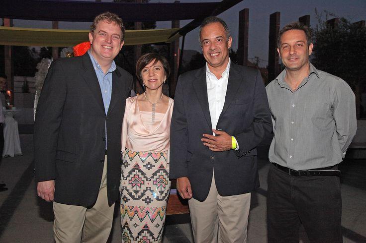 Juan Enrique Nestler, Claudia Sepúlveda, Cristián Cominetti y Francisco Klein
