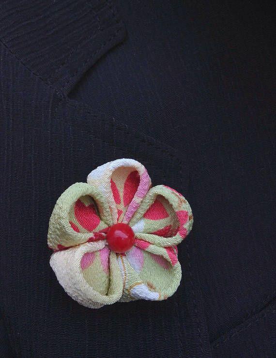 Custom Lapel Pins Mens Lapel Pin Flower Lapel Pin Silk Lapel