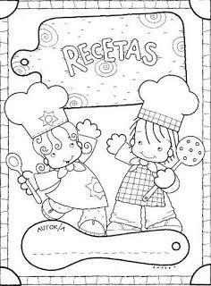 Menta Más Chocolate - RECURSOS PARA EDUCACIÓN INFANTIL: Actividad: Libro RECETARIO